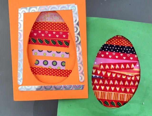 Bricolages de Pâques pour enfants de maternelle - Un jour un jeu