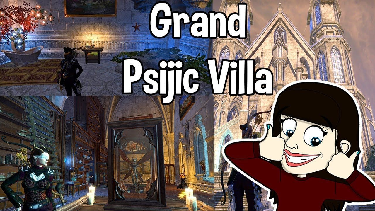 Eso Grand Psijic Villa Fully Decorated Tour 700 700 Furnishings