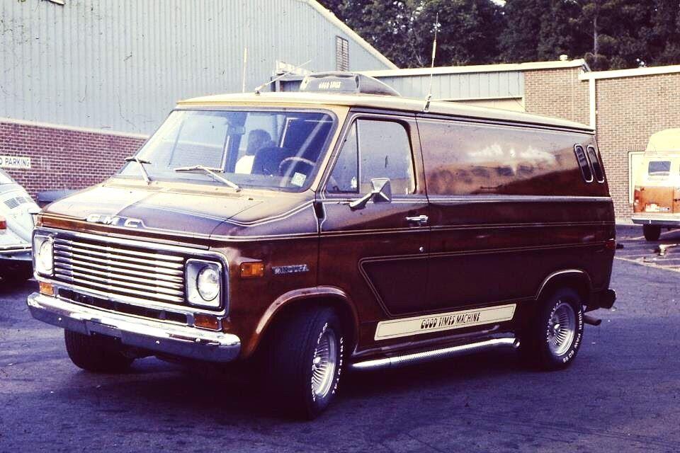 70s Car Culture In 2020 Gmc Vans Custom Vans Old School Vans