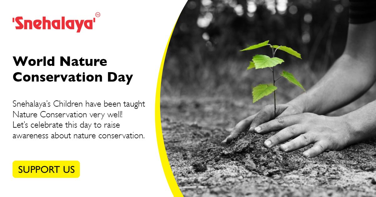 We All Should Celebrate Nature Conservation Day In Order To Raise Awareness About Protecting Natu Environmental Conservation Nature Conservation Protect Nature