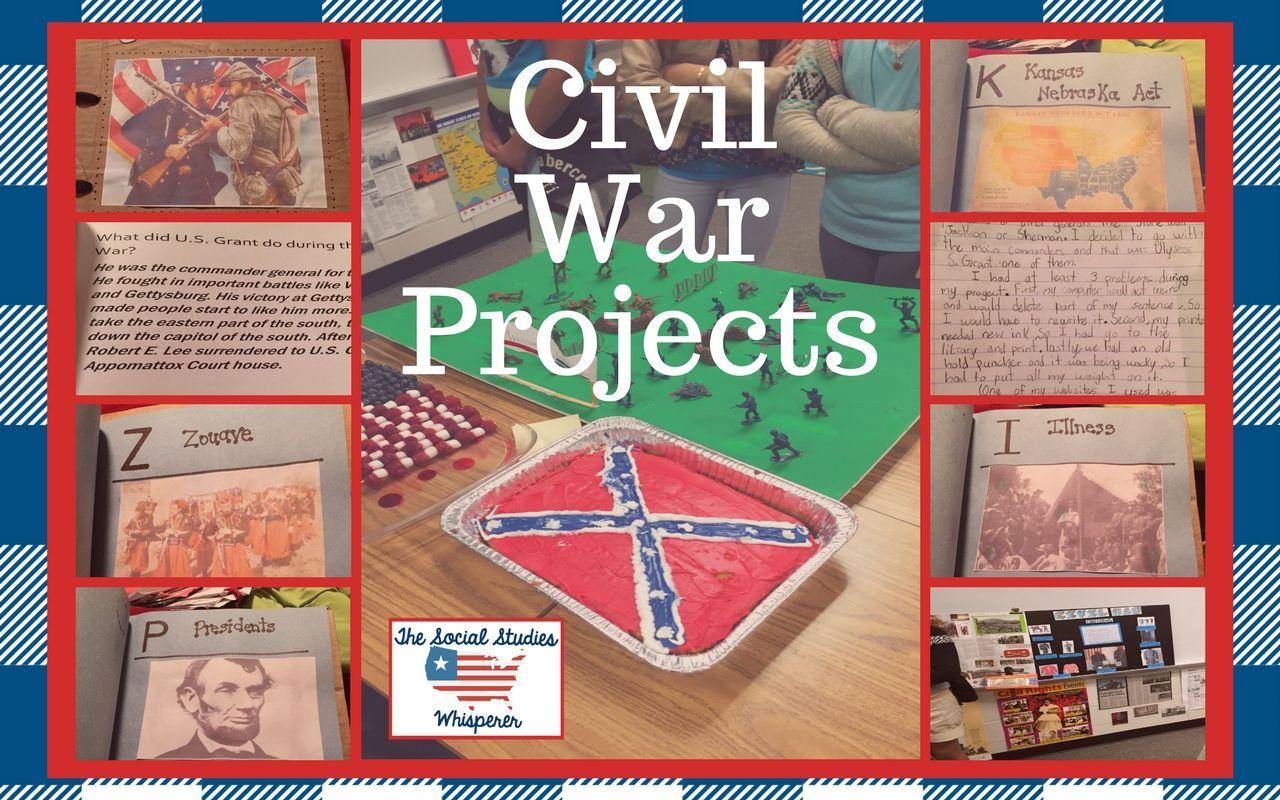 Civil War Project Presentation Day