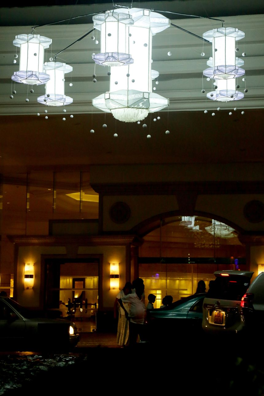 Vesak Celebrations At Cinnamon Grand Vesak Cinnamongrand Grands Ceiling Lights Colombo