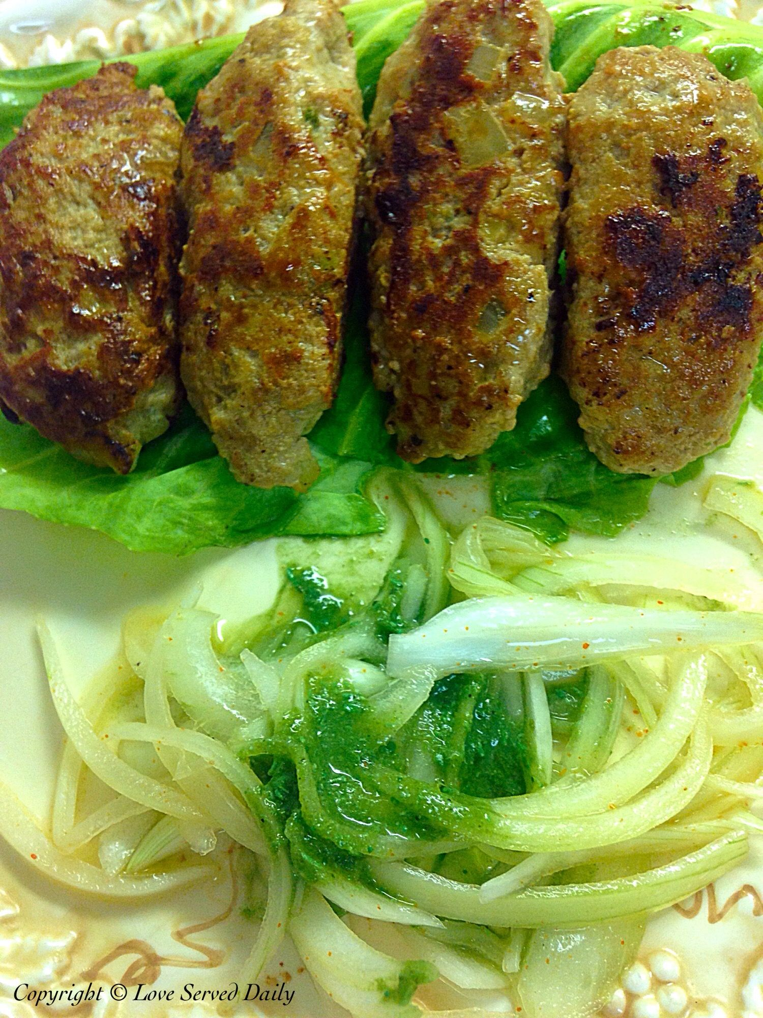 Turkey Seekh Kebabs…Can also be made with Chicken ...