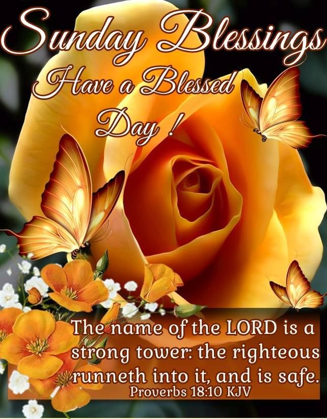 Sunday Blessings Have A Blessed Day Religious Quote | Sunday
