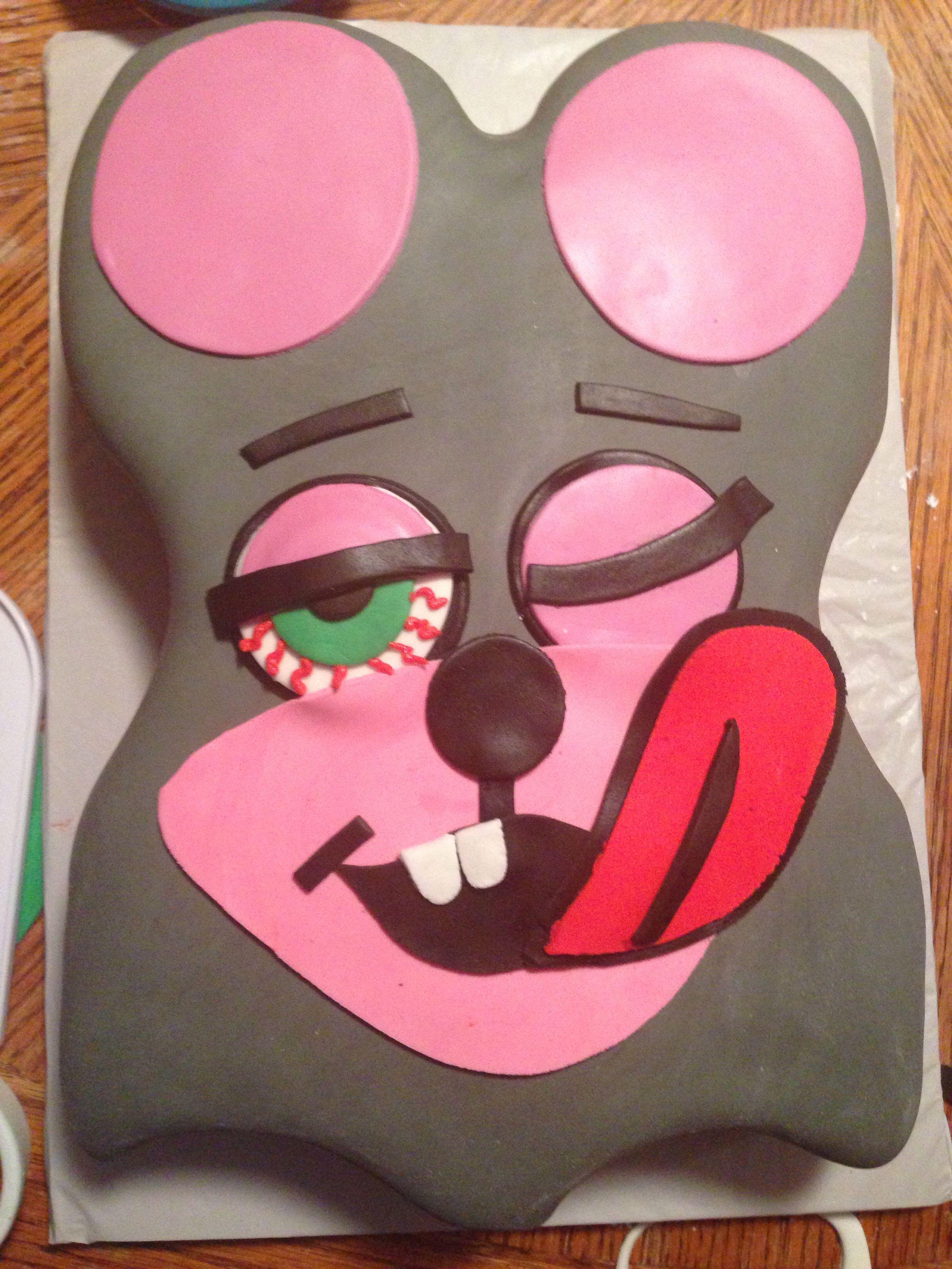 Miley Cyrus Twerk Cake