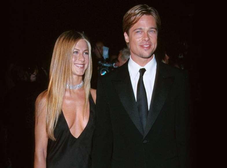 Photos From Friendly Celebrity Exes E Online Brad Pitt And Jennifer Brad And Jen Jennifer Aniston