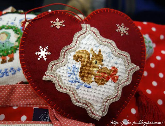 Большая рождественская история вышивка