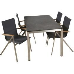 Photo of Reduced stainless steel garden tables