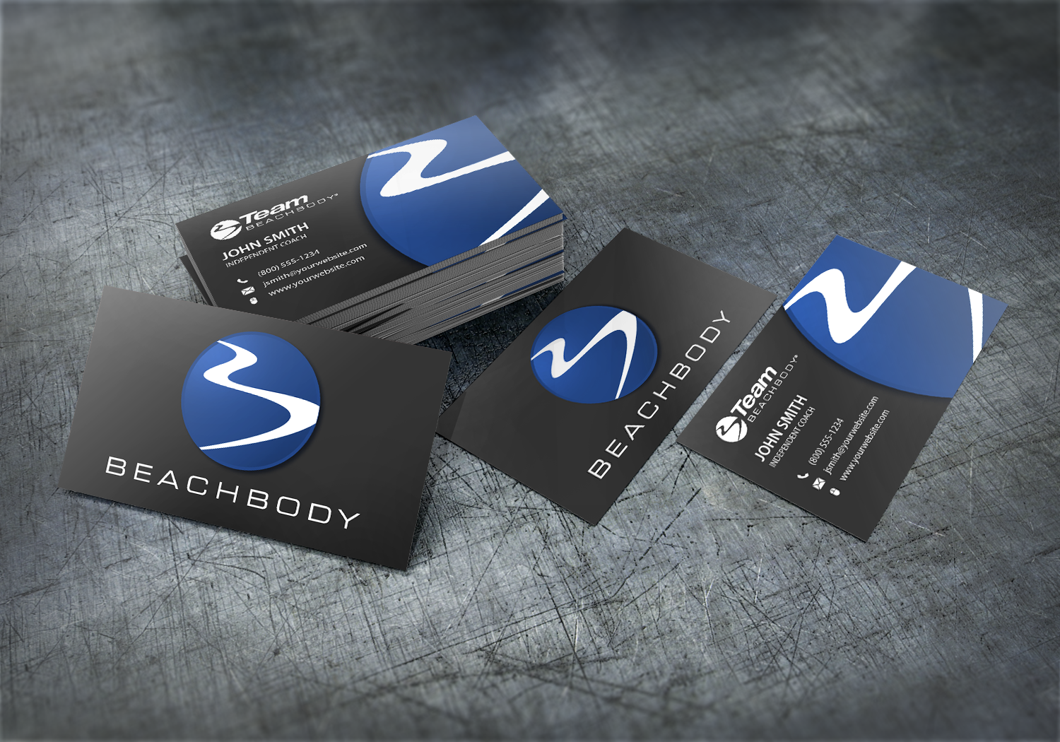 Beachbody Agents Can Create Their Own New Business Cards With Our