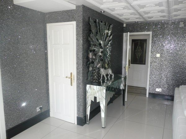 Glitter wall from favorite for Pitture brillantinate