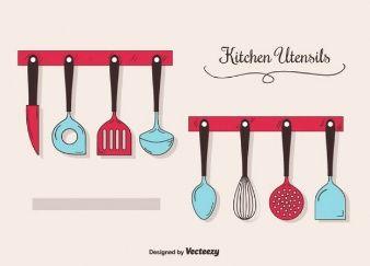 Utensilios de cozinha molde for Utensilios de cocina logo