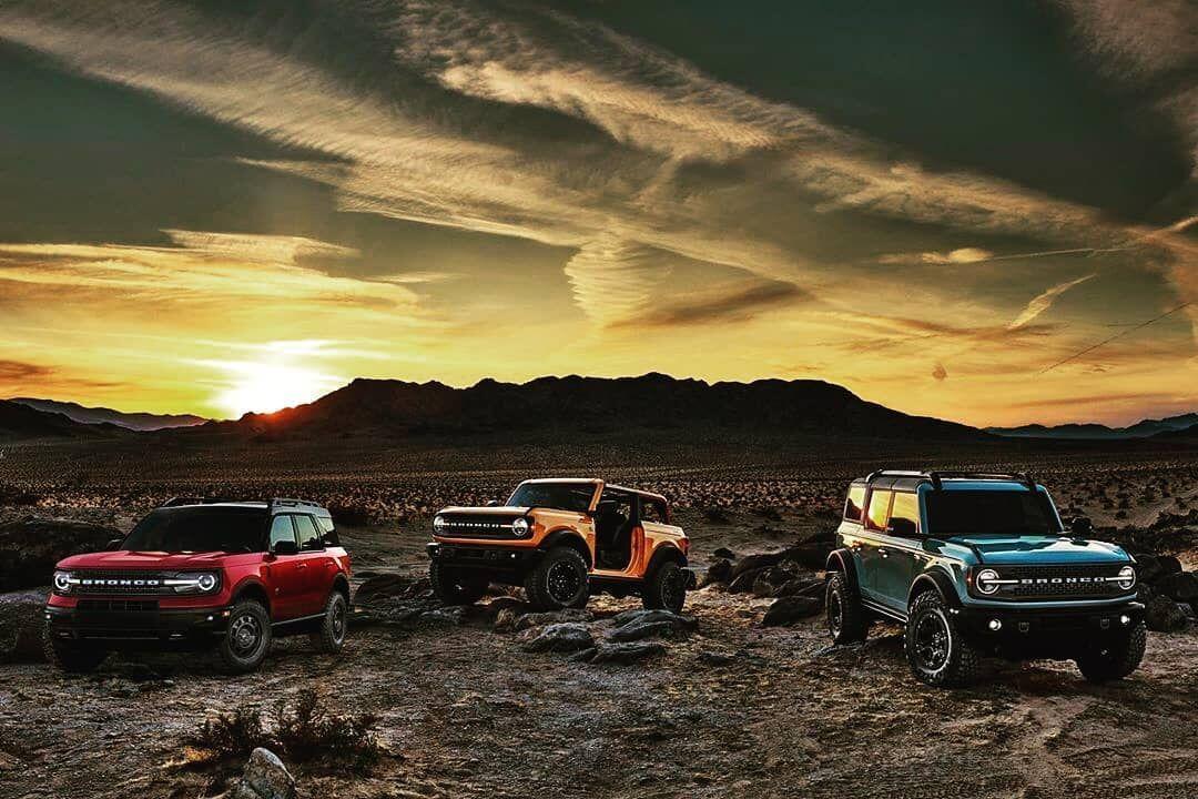Return of the wild! FordBronco Ford SonoraFord em 2020