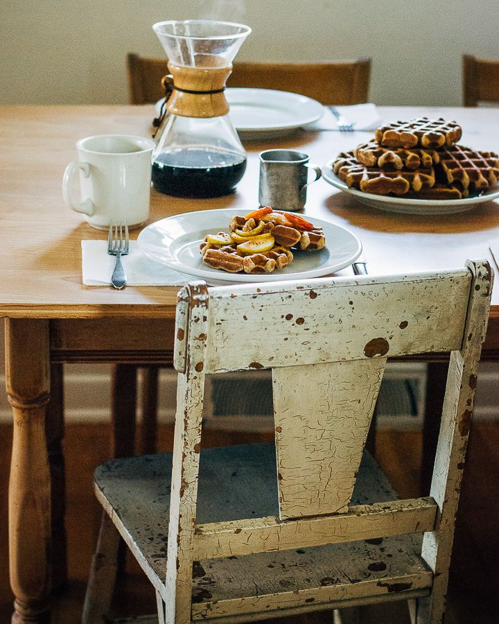 Delta Breezes... — Spiced Apple Waffles | Brooklyn Suppers