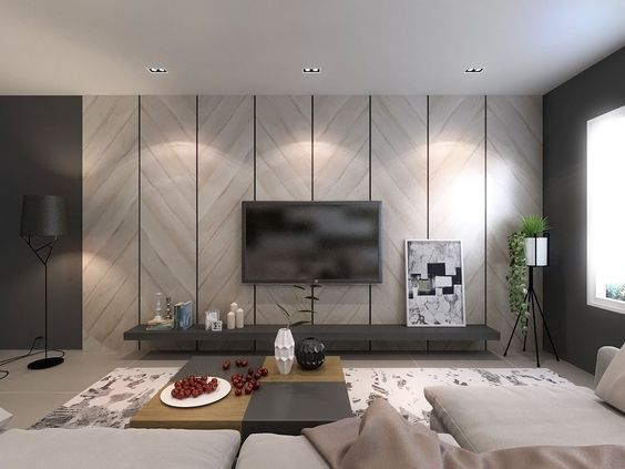 50 Elegant Contemporary And Creative Tv Wall Design