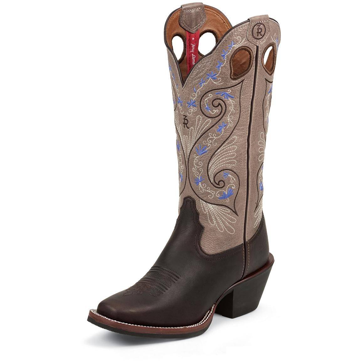 Womens Tony Lama Bridle Brown Shiloh boot Call for price and ...