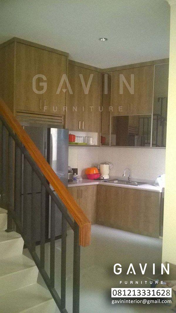 Hasil 3D Kitchen Set By Gavin FurnitureKitchen Cabinet