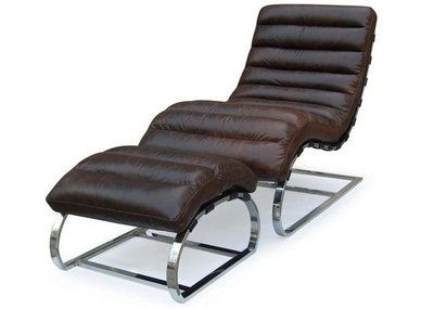 Swell Leather Chair Ottoman Set Heirloom Quality Vintage Pdpeps Interior Chair Design Pdpepsorg