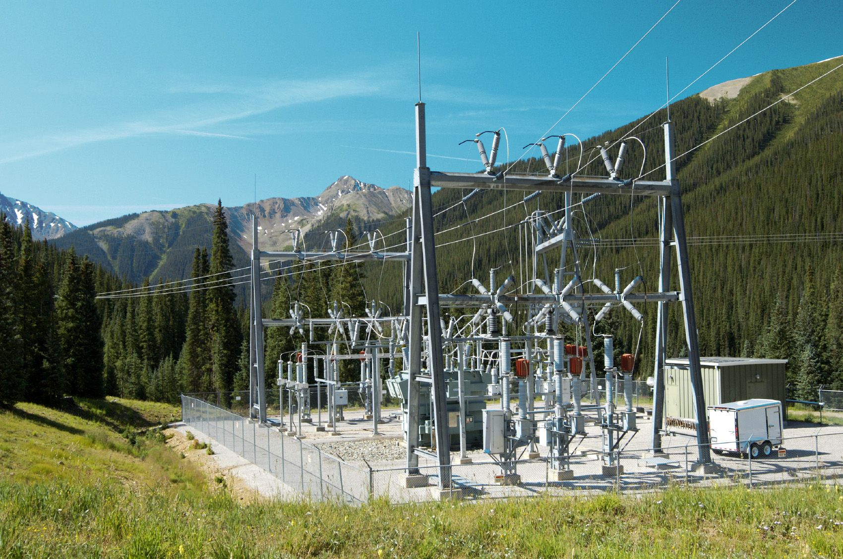 Small Substation Power Grid Electricity Power Plant
