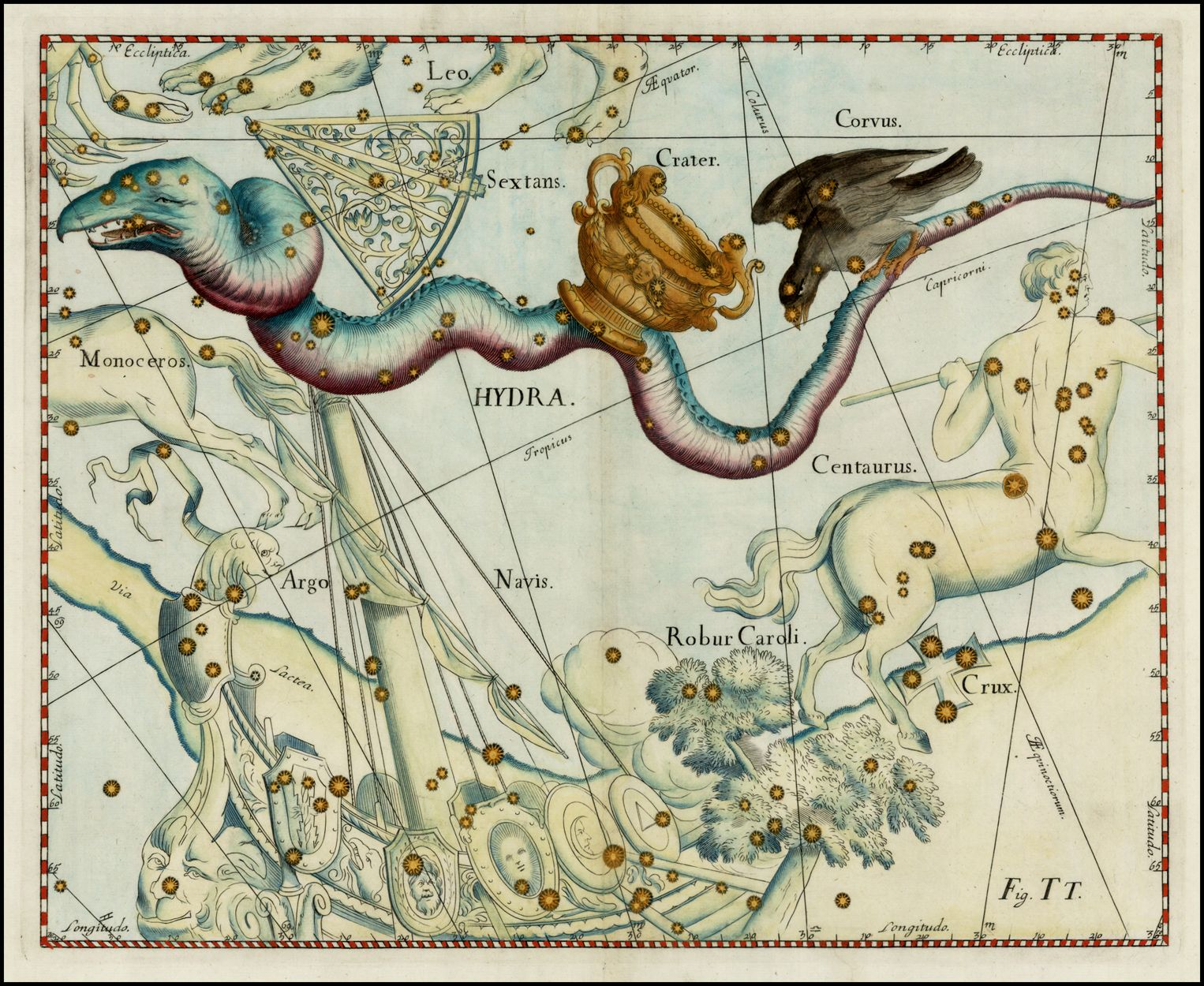 Explore Gold Map Constellation And More