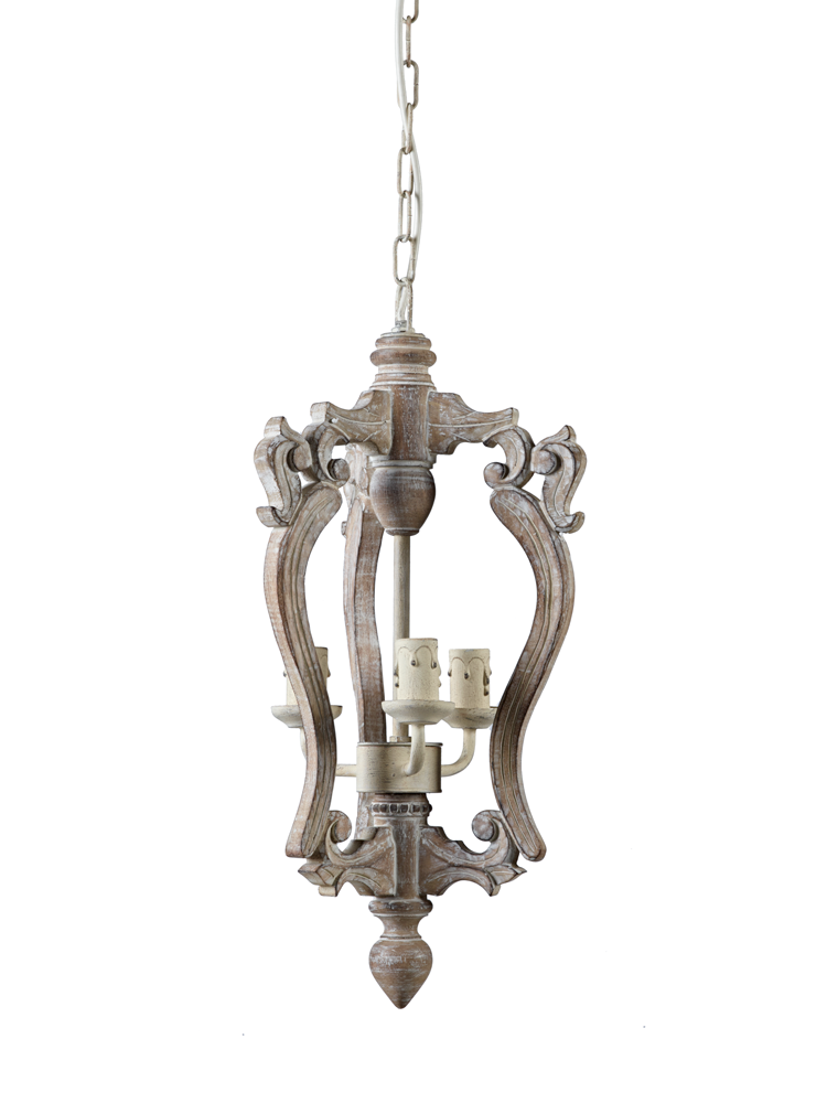 Wooden Chandelier - Small   Wooden chandelier, Small ...