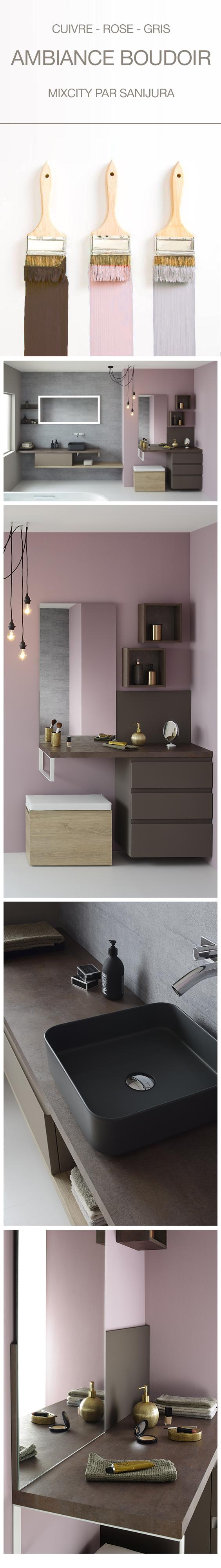 Accessoire Salle De Bain Rose Poudre ~ suivez la tendance rose poudr e pour d corer votre salle de bain