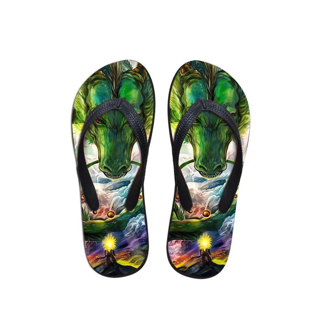 ca2d3b1068c9 DBZ Kid Goku Flying Nimbus Cloud Sandals Beach Flip Flops Shoes ...