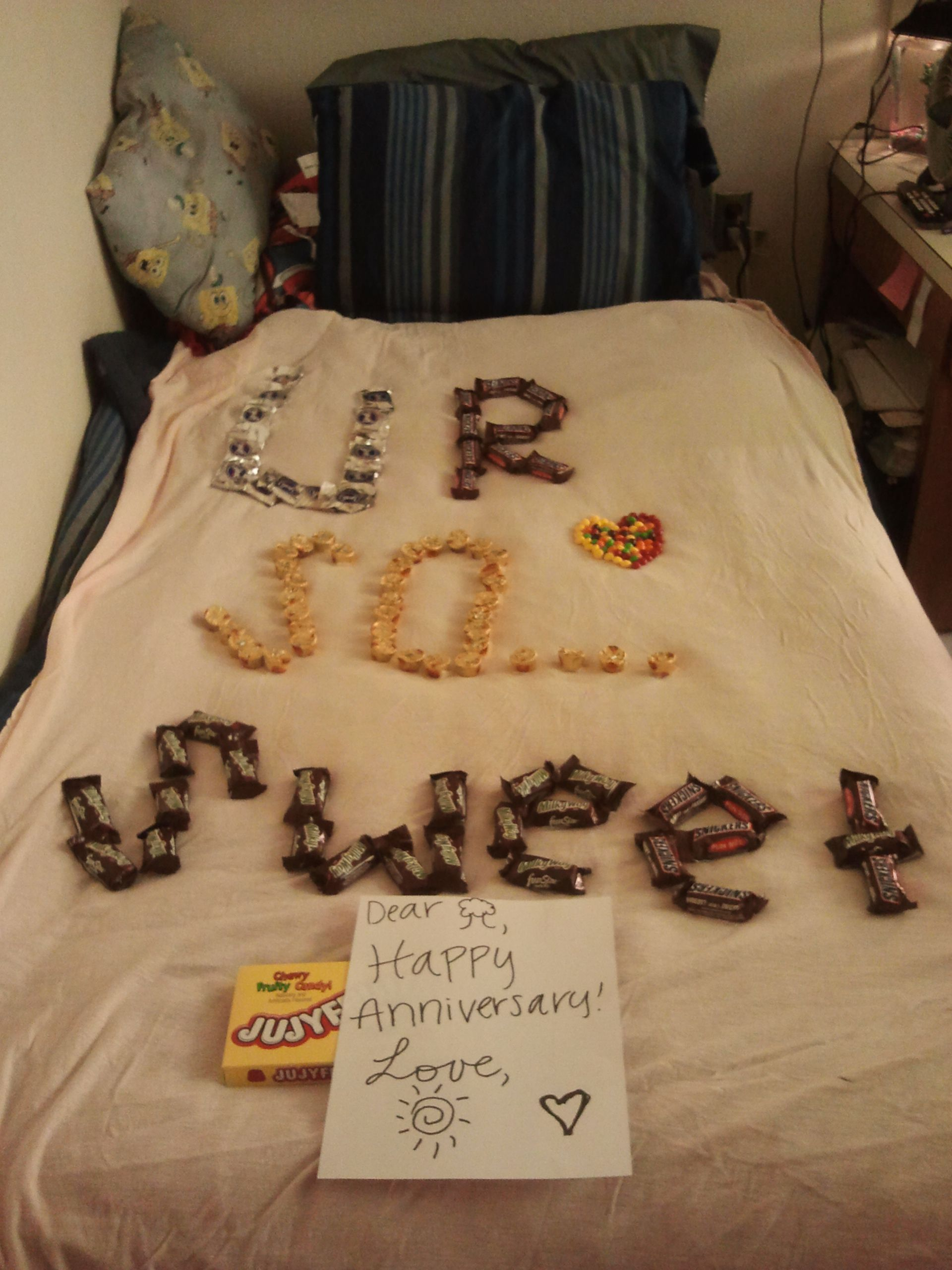 Our 6 month anniversary. :) | Arts and Crafts! | Pinterest ...