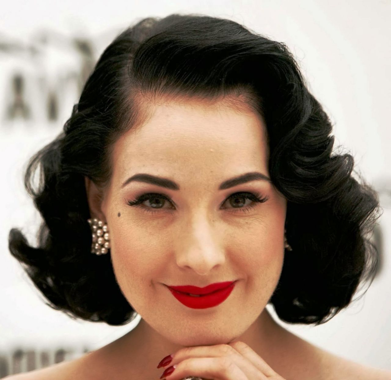 black hair vintage hairstyles