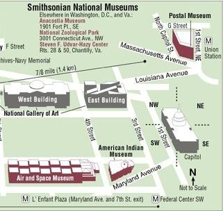 Smithsonian Washington Dc Map.Washington Dc The National Museum Of The American Indian Is Part