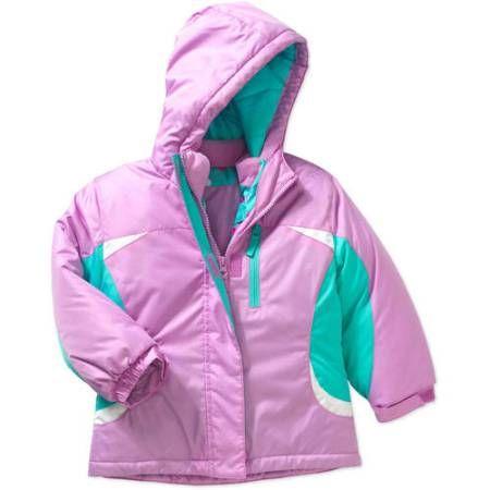 3b6664b5fa46 Healthtex Baby Toddler Girls 3 in 1 Ski Snowboard Jacket with ...