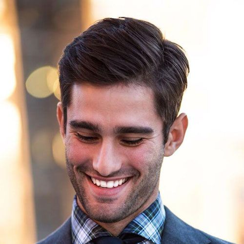Long Hair With Side Part Stylish Haircuts Cool For Men S