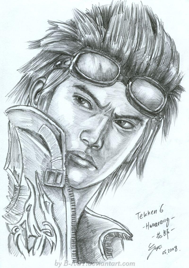 Hwoarang Tekken by B-AGT.deviantart.com on @deviantART   Mannen ...