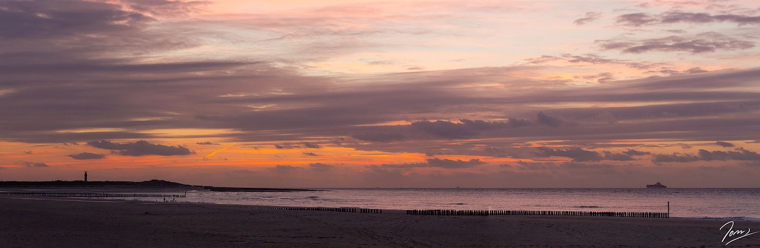 evening at the sea in september 2014 by Hans Holz / 500px