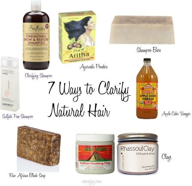7 Options For Clarifying Natural Hair - VeePeeJay