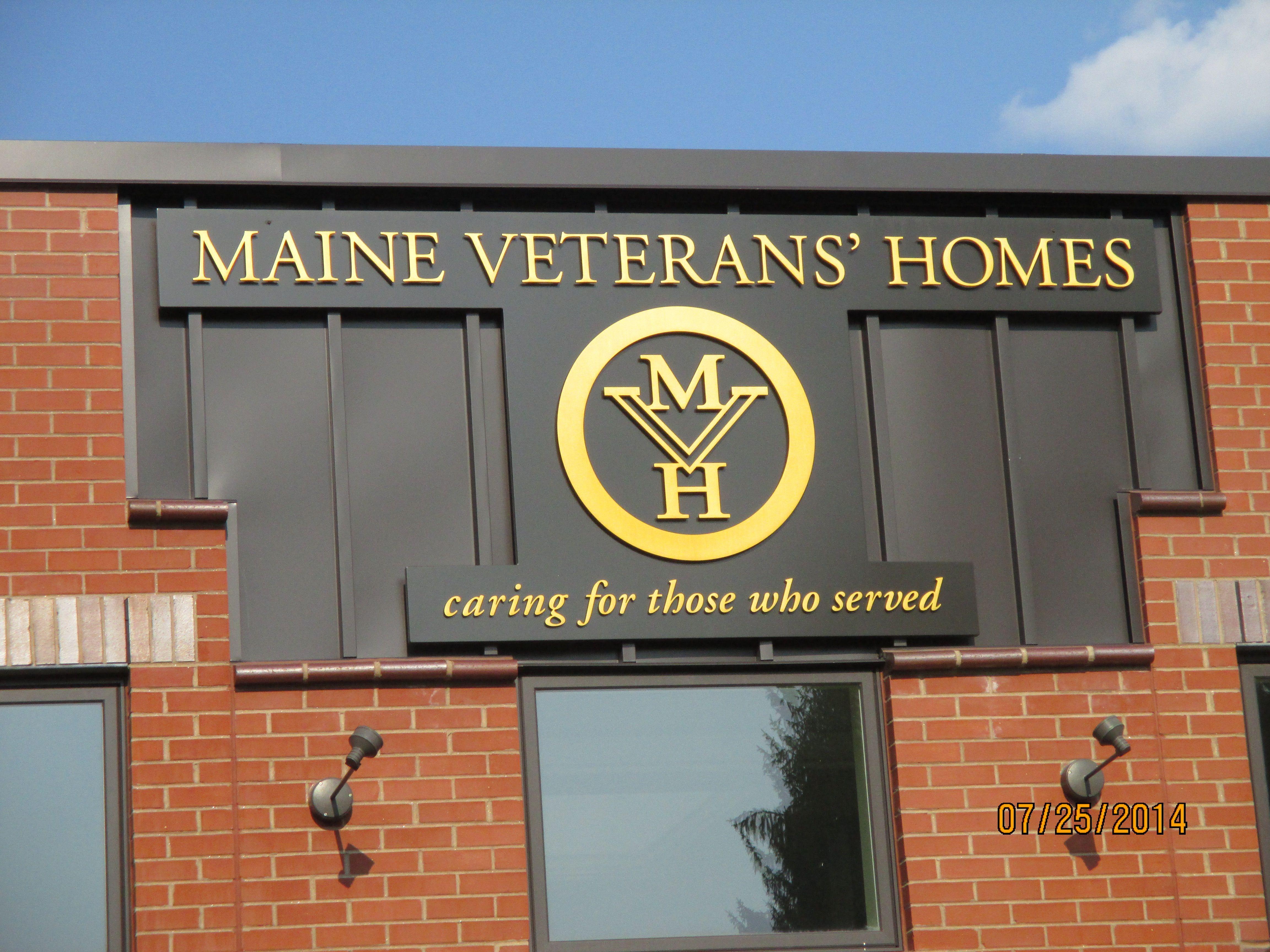 Sign On Maine Veterans Home Hogan Road Bangor Maine
