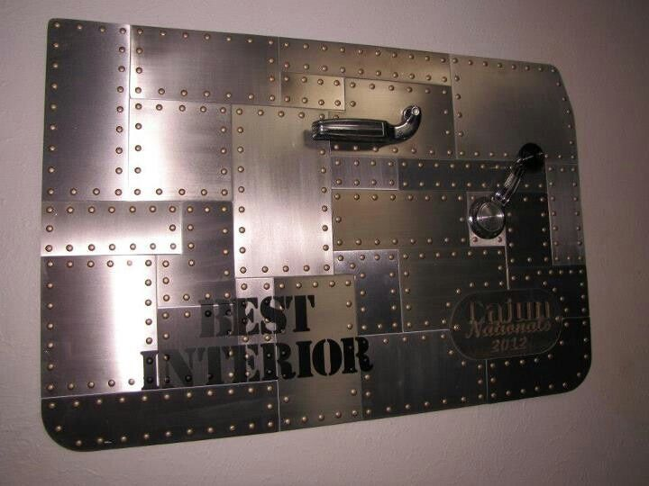 Ryans Auto Parts >> Ryans Sheetmetal Designs | Cool looking award for best interior. door panel. | Auto Addiction ...