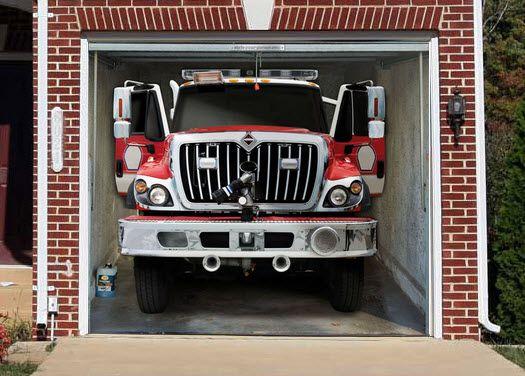 Delightful Fire Engine Garage Door Mural | Shared By LION Part 25