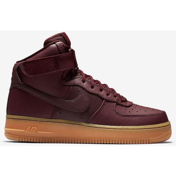 Nike Air Force 1 Hi SE Women's Shoe. Nike.com ($110) ❤ liked on Polyvore featuring shoes, nike, nike footwear and nike shoes