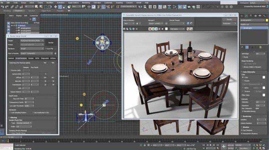 10 Software Desain Grafis Terbaik Di Pc 3ds Max Grafis Permodelan