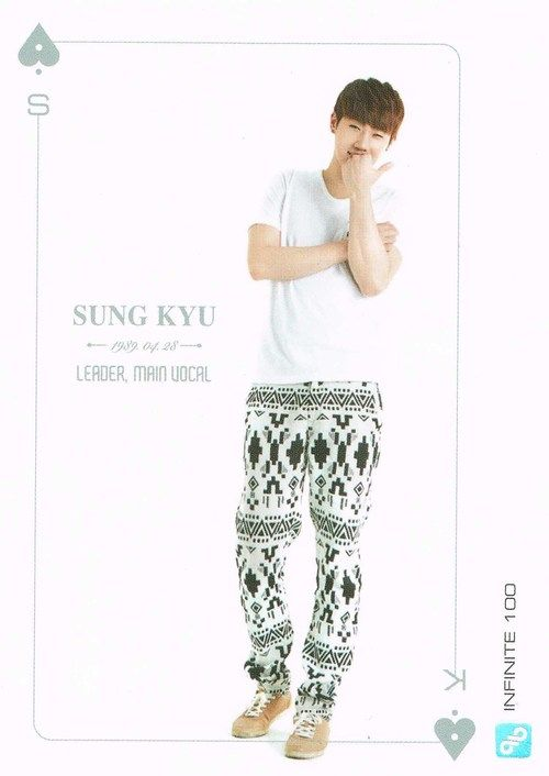 INFINITE Official Collection Card Vol. 1 - SungGyu