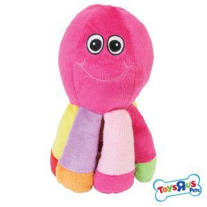 Toys R Us Plush Octopus Dog Toy Toys Petsmart Puppy Time