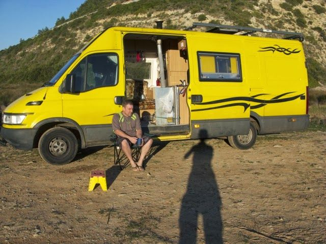 Jeff Living The Van Life In The Algarve Portugal Toyota Camper Van Life Camper Van Conversion Diy
