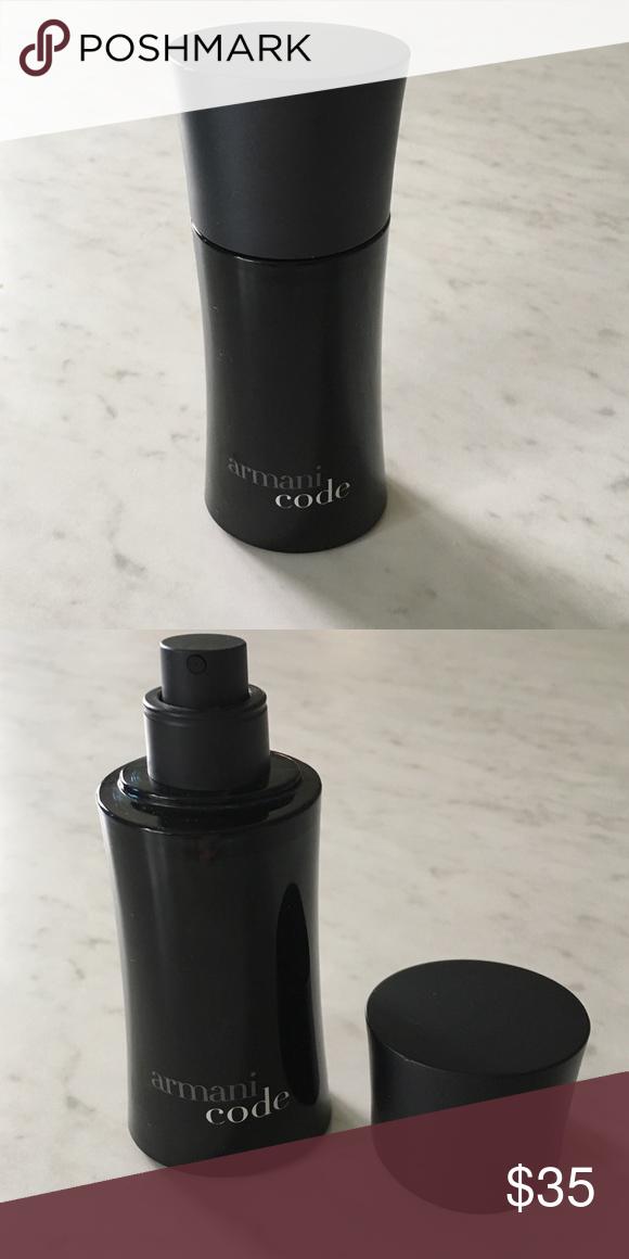 Men's Armani Code Cologne spray New 1.7 fl oz Armani Code eau de toilette spray for men. No box. Emporio Armani Makeup
