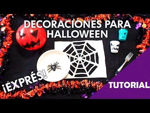 DIY quick Halloween hacks decorations - tutorial - YouTube - how to make halloween decorations youtube