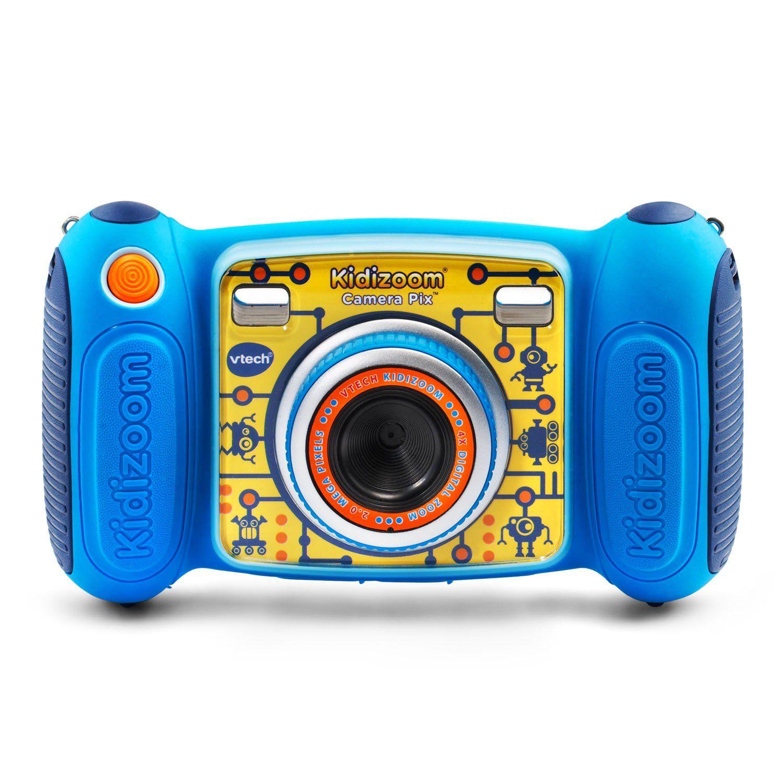 Vtech Kidizoom Camera Pix Real Digital Camera For Kids Blue Walmart Com In 2020 Kids Camera Vtech Best Camera