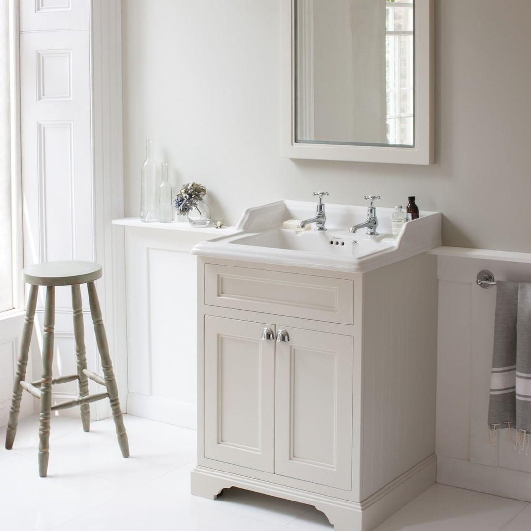 Badezimmer Burlington Bathrooms On Instagram Designed To Be Stylish Yet Practical Our Freestanding Freestanding Vanity Unit Burlington Bathroom Vanity Units