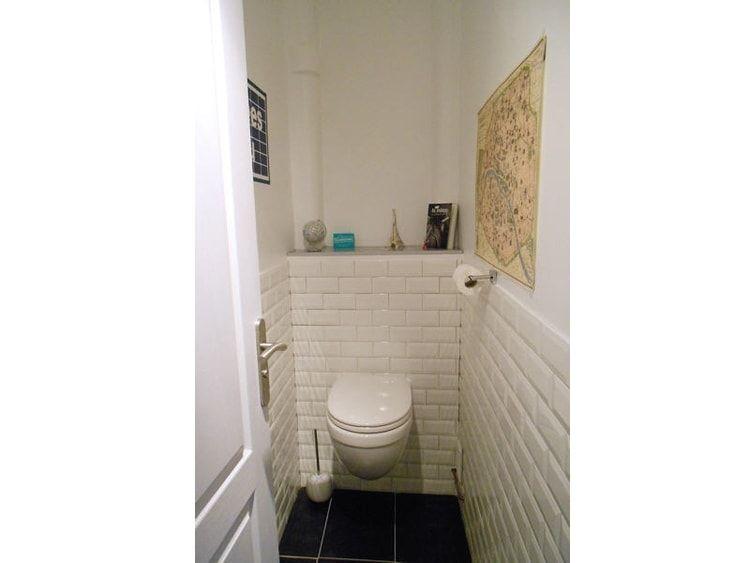 wc carrelage m tro salle de bain pinterest carrelage espace et salle de bains. Black Bedroom Furniture Sets. Home Design Ideas