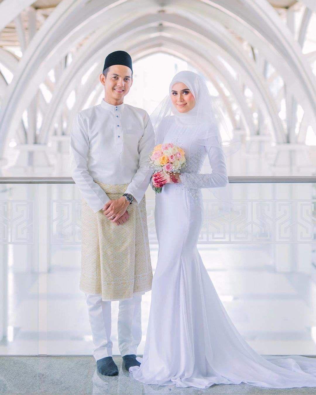 Wedding Dress Gaun Pengantin Muslimah 10 - ADDICFASHION