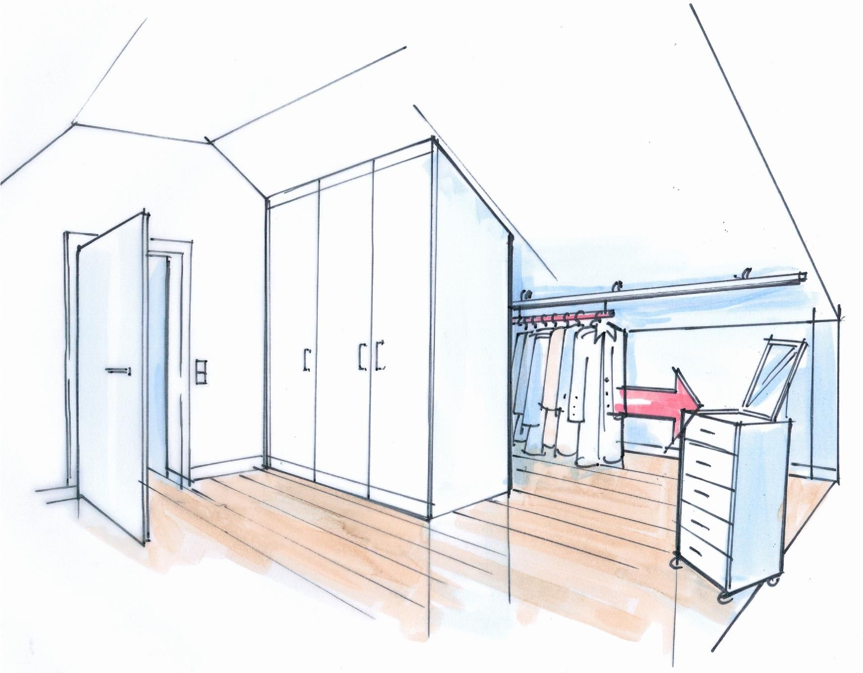 Bauanleitung für einen geräumigen Dachschrägenschrank | schrank ...