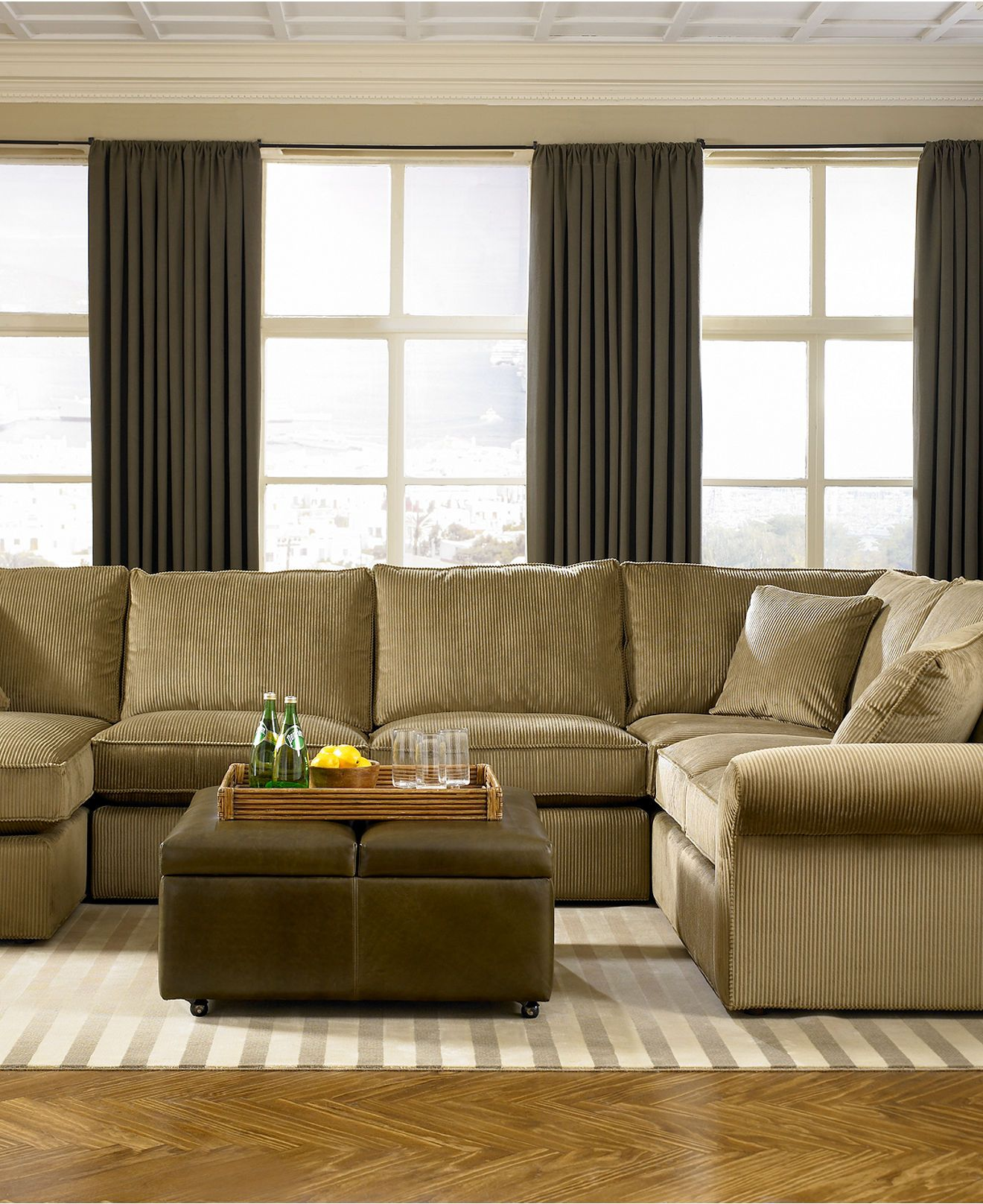Macys Curtains For Living Room Our Ale Corduroy Couch On The Way Ohhh Couches Pinterest